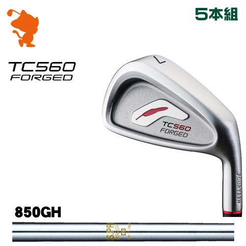 フォーティーン TC-560 FORGED アイアンFOURTEEN TC560 FORGED IRON 5本組NSPRO 850GH スチールシャフトメーカーカスタム 日本正規品