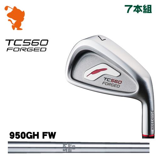 フォーティーン TC-560 FORGED アイアンFOURTEEN TC560 FORGED IRON 7本組NSPRO 950GH WF スチールシャフトメーカーカスタム 日本正規品