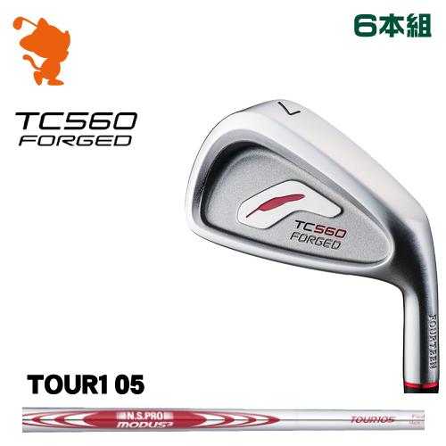 フォーティーン TC-560 FORGED アイアンFOURTEEN TC560 FORGED IRON 6本組NSPRO MODUS3 TOUR105 スチールシャフトメーカーカスタム 日本正規品