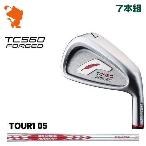 フォーティーン TC-560 FORGED アイアンFOURTEEN TC560 FORGED IRON 7本組NSPRO MODUS3 TOUR105 スチールシャフトメーカーカスタム 日本正規品