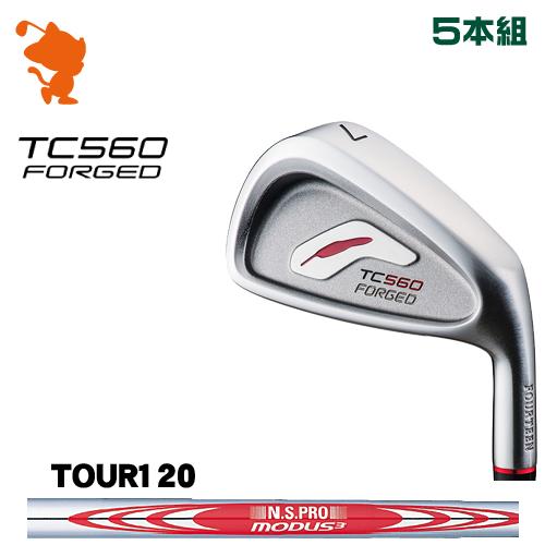 フォーティーン TC-560 FORGED アイアンFOURTEEN TC560 FORGED IRON 5本組NSPRO MODUS3 TOUR120 スチールシャフトメーカーカスタム 日本正規品