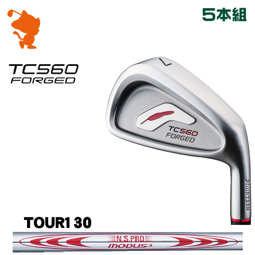 フォーティーン TC-560 FORGED アイアンFOURTEEN TC560 FORGED IRON 5本組NSPRO MODUS3 TOUR130 スチールシャフトメーカーカスタム 日本正規品