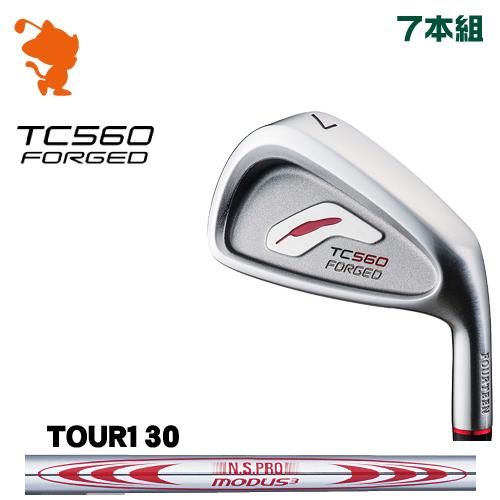 フォーティーン TC-560 FORGED アイアンFOURTEEN TC560 FORGED IRON 7本組NSPRO MODUS3 TOUR130 スチールシャフトメーカーカスタム 日本正規品