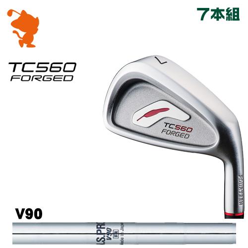 フォーティーン TC-560 FORGED アイアンFOURTEEN TC560 FORGED IRON 7本組NSPRO V90 スチールシャフトメーカーカスタム 日本正規品