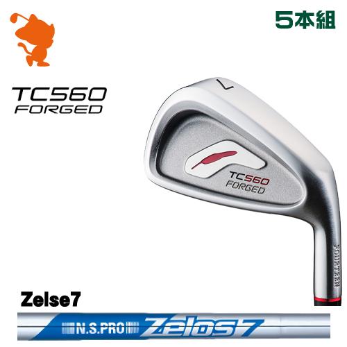 フォーティーン TC-560 FORGED アイアンFOURTEEN TC560 FORGED IRON 5本組NSPRO Zelos7 スチールシャフトメーカーカスタム 日本正規品
