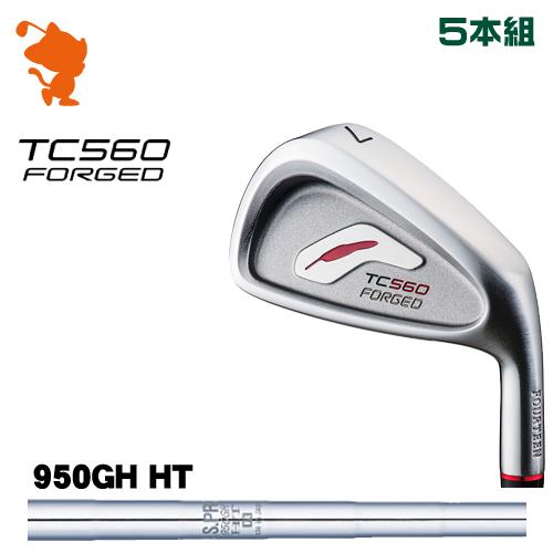 フォーティーン TC-560 FORGED アイアンFOURTEEN TC560 FORGED IRON 5本組NSPRO 950GH HT スチールシャフトメーカーカスタム 日本正規品