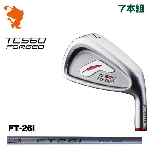 フォーティーン TC-560 FORGED アイアンFOURTEEN TC560 FORGED IRON 7本組FT-26i カーボンシャフトメーカーカスタム 日本正規品