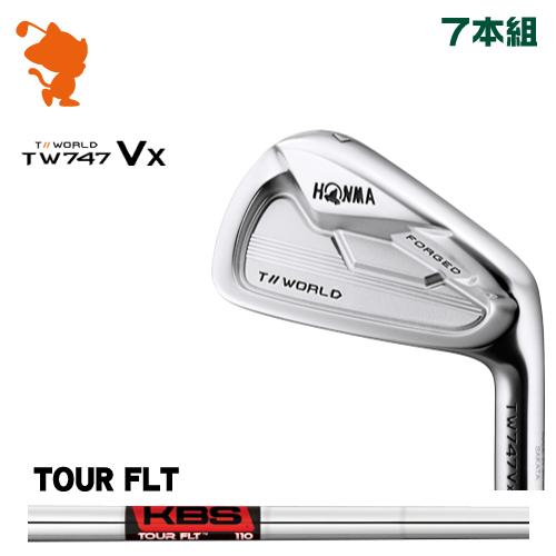 本間ゴルフ ツアーワールド TW747Vx アイアンHONMA TOUR WORLD TW747Vx IRON 7本組KBS TOUR FLT スチールシャフトメーカーカスタム 日本モデル