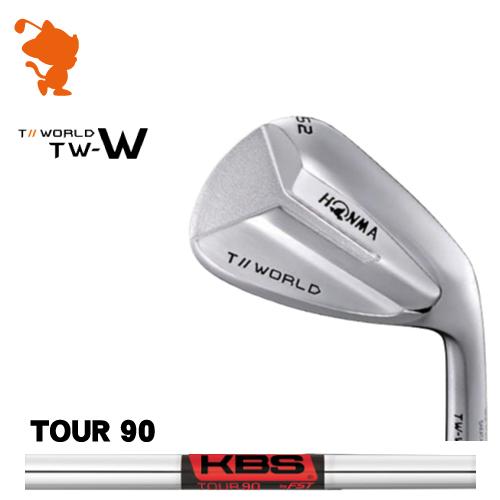 本間ゴルフ 2018年 ツアーワールド TW-W ウェッジHONMA TOUR WORLD TW-W WEDGEKBS TOUR 90 スチールシャフトメーカーカスタム 日本モデル