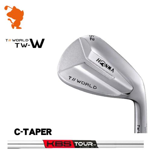 本間ゴルフ 2018年 ツアーワールド TW-W ウェッジHONMA TOUR WORLD TW-W WEDGEKBS TOUR C-Taper スチールシャフトメーカーカスタム 日本モデル