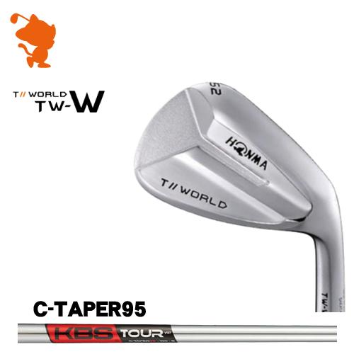 本間ゴルフ 2018年 ツアーワールド TW-W ウェッジHONMA TOUR WORLD TW-W WEDGEKBS TOUR C-Taper95 スチールシャフトメーカーカスタム 日本モデル