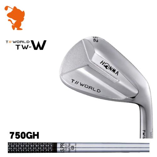 本間ゴルフ 2018年 ツアーワールド TW-W ウェッジHONMA TOUR WORLD TW-W WEDGENSPRO 750GH Wrap Tech スチールシャフトメーカーカスタム 日本モデル