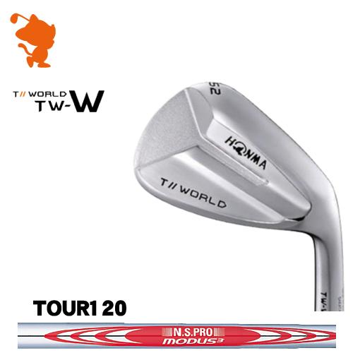 本間ゴルフ 2018年 ツアーワールド TW-W ウェッジHONMA TOUR WORLD TW-W WEDGENSPRO MODUS3 TOUR120 スチールシャフトメーカーカスタム 日本モデル