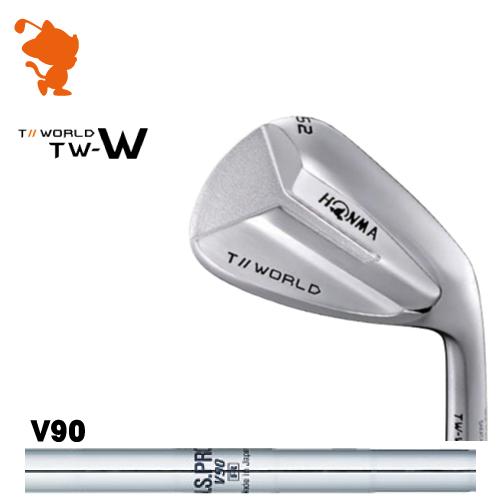 本間ゴルフ 2018年 ツアーワールド TW-W ウェッジHONMA TOUR WORLD TW-W WEDGENSPRO V90 スチールシャフトメーカーカスタム 日本モデル