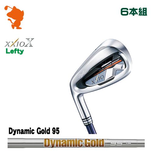 ダンロップ ゼクシオテン レフティ アイアンDUNLOP XXIO X Lefty IRON 6本組Dynamic Gold 95 スチールシャフトメーカーカスタム 日本正規品