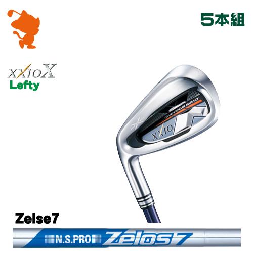 ダンロップ ゼクシオテン レフティ アイアンDUNLOP XXIO X Lefty IRON 5本組NSPRO Zelos7 スチールシャフトメーカーカスタム 日本正規品