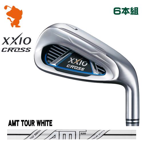 ダンロップ ゼクシオクロス アイアンDUNLOP XXIO CROSS IRON 6本組AMT TOUR WHITE スチールシャフトメーカーカスタム
