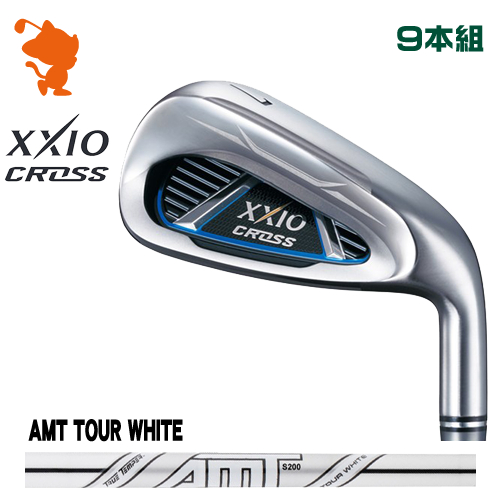 ダンロップ ゼクシオクロス アイアンDUNLOP XXIO CROSS IRON 9本組AMT TOUR WHITE スチールシャフトメーカーカスタム 日本モデル