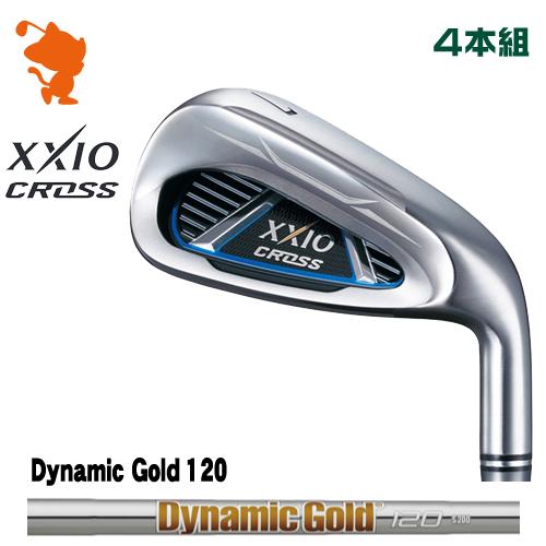 ダンロップ ゼクシオクロス アイアンDUNLOP XXIO CROSS IRON 4本組Dynamic Gold 120 スチールシャフトメーカーカスタム 日本モデル