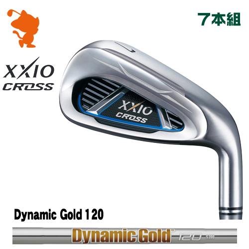 ダンロップ ゼクシオクロス アイアンDUNLOP XXIO CROSS IRON 7本組Dynamic Gold 120 スチールシャフトメーカーカスタム