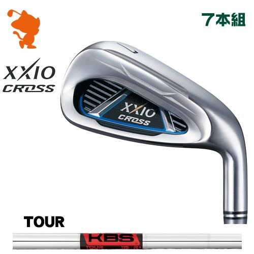 ダンロップ ゼクシオクロス アイアンDUNLOP XXIO CROSS IRON 7本組KBS TOUR スチールシャフトメーカーカスタム 日本モデル