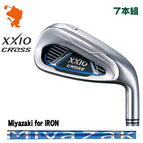 ダンロップ ゼクシオクロス アイアンDUNLOP XXIO CROSS IRON 7本組Miyazaki for IRON カーボンシャフトメーカーカスタム