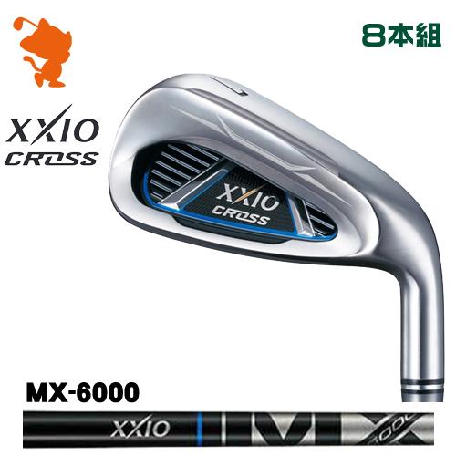 ダンロップ ゼクシオクロス アイアンDUNLOP XXIO CROSS IRON 8本組MX-6000 カーボンシャフトメーカーカスタム 日本モデル