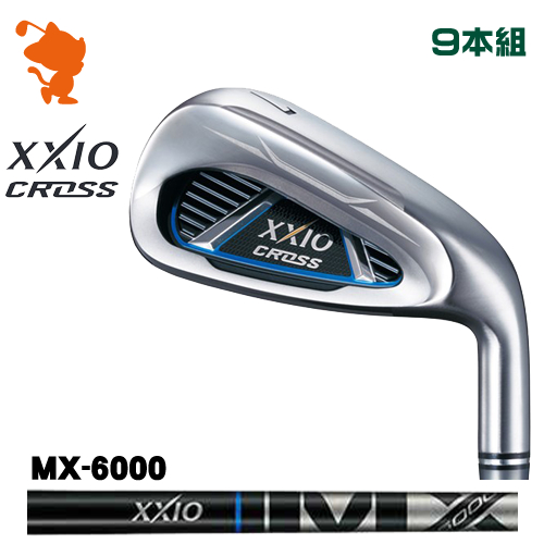 ダンロップ ゼクシオクロス アイアンDUNLOP XXIO CROSS IRON 9本組MX-6000 カーボンシャフトメーカーカスタム 日本モデル