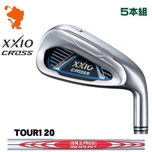 ダンロップ ゼクシオクロス アイアンDUNLOP XXIO CROSS IRON 5本組NSPRO MODUS3 TOUR120 スチールシャフトメーカーカスタム