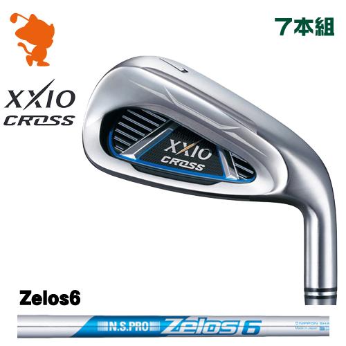 ダンロップ ゼクシオクロス アイアンDUNLOP XXIO CROSS IRON 7本組NSPRO Zelos6 スチールシャフトメーカーカスタム