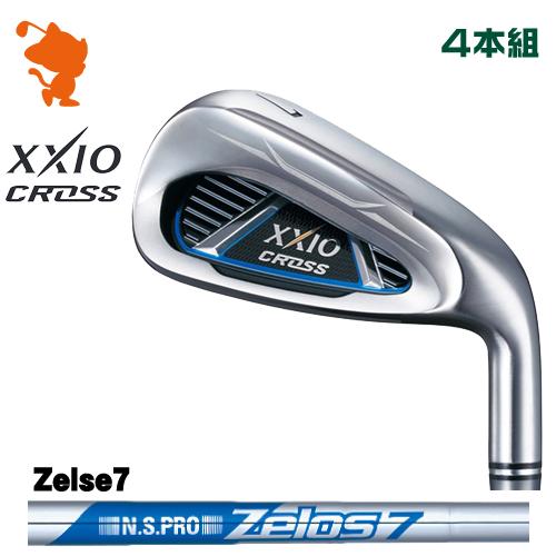 ダンロップ ゼクシオクロス アイアンDUNLOP XXIO CROSS IRON 4本組NSPRO Zelos7 スチールシャフトメーカーカスタム