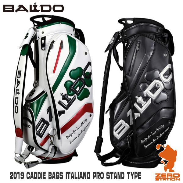 《あす楽》BALDO バルド 2019 CADDIE BAGS ITALIANO PRO STAND TYPE メンズ スタンド キャディバッグ 9.5型 2019年モデル
