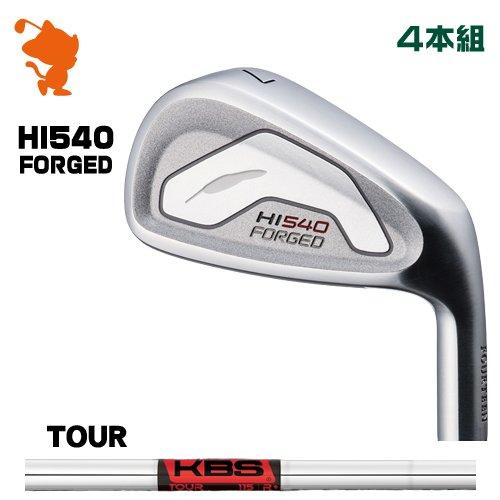 フォーティーン HI-540 FORGED アイアンFOURTEEN HI540 FORGED IRON 4本組KBS TOUR スチールシャフトメーカーカスタム