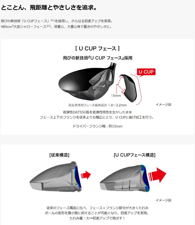 プロギア NEW SUPER egg 480 高反発 ドライバーPRGR NEW SUPER egg 480 DRIVERNSPRO Regio Formula MB カーボンシャフトメーカーカスタム 日本モデル