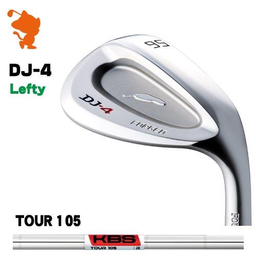 フォーティーン DJ-4 シルバー レフティ ウェッジFOURTEEN DJ4 Lefty WEDGEKBS TOUR 105 スチールシャフトメーカーカスタム 日本モデル