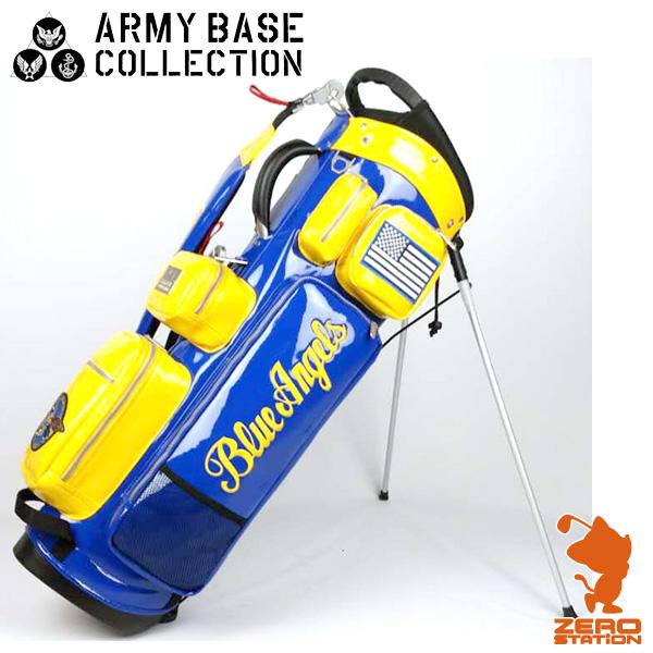 《あす楽》アーミーベースコレクション ARMY BASE COLLECTION ABC-017SB スタンド キャディバッグ 9インチ 5分割 エナメル