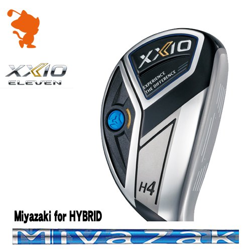ダンロップ 2020 ゼクシオイレブン ハイブリッドDUNLOP XXIO 11 ELEVEN HYBRIDMiyazaki for HYBRID カーボンシャフトメーカーカスタム 日本モデル