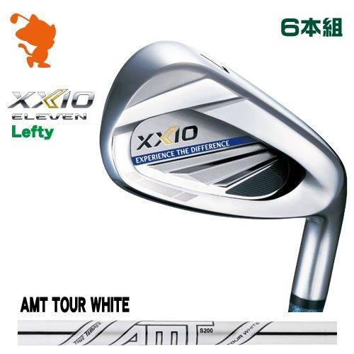 ダンロップ 2020 ゼクシオイレブン レフティ アイアンDUNLOP XXIO 11 ELEVEN Lefty IRON 6本組AMT TOUR WHITE スチールシャフトメーカーカスタム 日本モデル