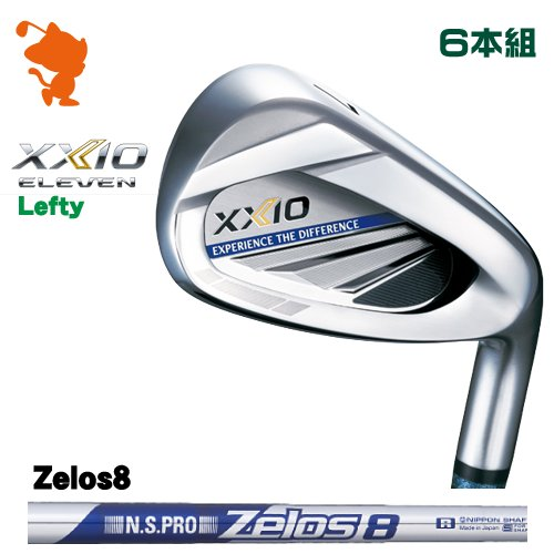 ダンロップ 2020 ゼクシオイレブン レフティ アイアンDUNLOP XXIO 11 ELEVEN Lefty IRON 6本組NSPRO Zelos8 ゼロスメーカーカスタム 日本モデル
