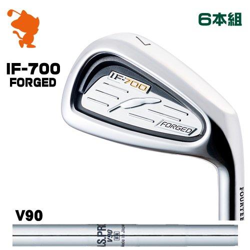 卸売 フォーティーン IF-700 IF700 FORGED アイアンFOURTEEN V90 IF700 FORGED IRON 6本組NSPRO IF-700 V90 スチールシャフトメーカーカスタム 日本モデル, 爆釣夢追人:b49b687e --- annhanco.com