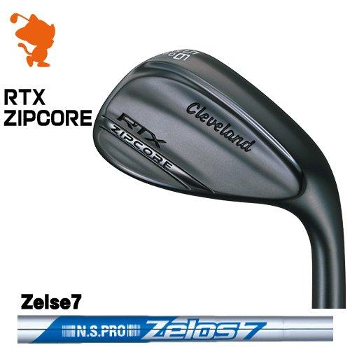 クリーブランド RTX ZIPCORE ブラックサテン ウェッジCleveland RTX ZIPCORE WEDGENSPRO Zelos7 ゼロスメーカーカスタム 日本モデル