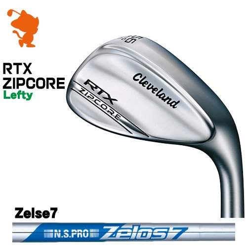 クリーブランド RTX ZIPCORE ツアーサテン レフティ ウェッジCleveland RTX ZIPCORE Lefty WEDGENSPRO Zelos7 ゼロスメーカーカスタム 日本モデル
