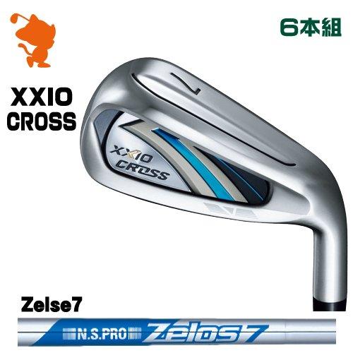 ダンロップ 2021 ゼクシオクロス アイアンDUNLOP 21 XXIO CROSS IRON 6本組NSPRO Zelos7 ゼロスメーカーカスタム 日本モデル
