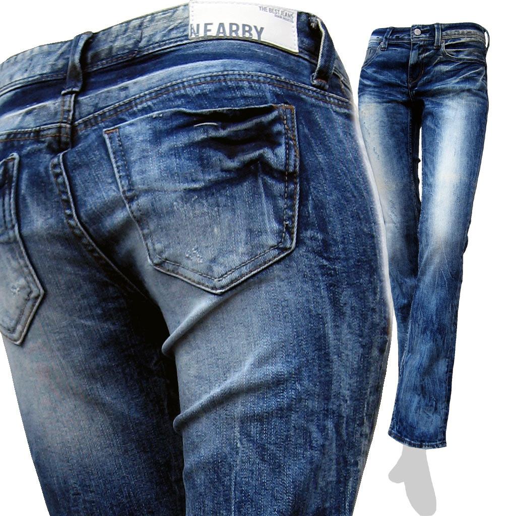 期間限定セール★激安★TheBestJeans (TBJ) #741 ストレッチ スリムストレート デニム/ジーンズ あす楽対応/【smtb-KD】【送料無料】
