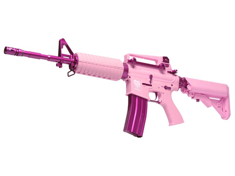 G&Gアーマメント - FF16 Carbine(カービン) - ピンクモデル(ファム・ファタール) 電動ガン(電動エアーガン・電動エアガン) 対象年令18才以上(18歳以上) <EGR-16P-FFC-PNB-NCS>