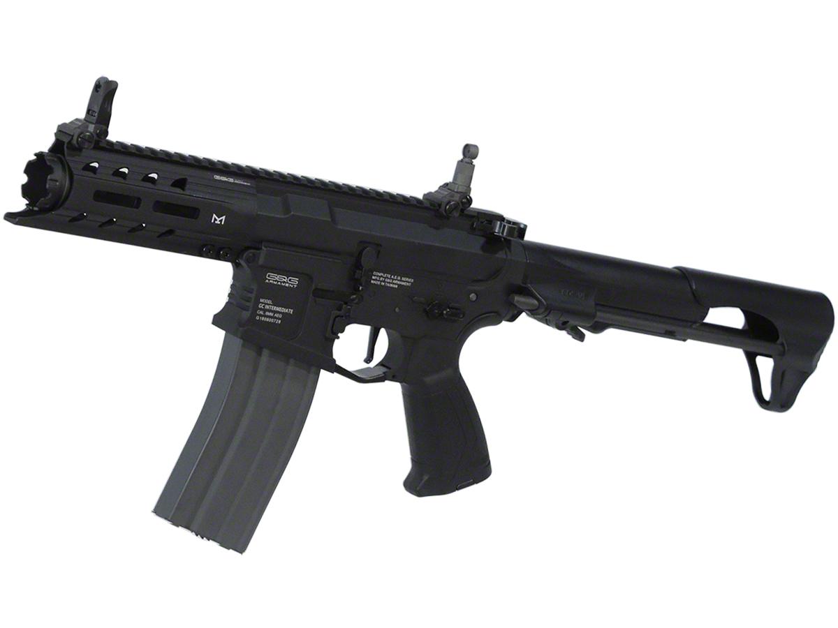 G&Gアーマメント - ARP 556 - ブラックモデル 電動ガン(電動エアーガン・電動エアガン) 対象年令18才以上(18歳以上) <EGC-ARP-556-BNB-NCS> ※MOSFET・ETU搭載モデル(電子トリガーユニット)