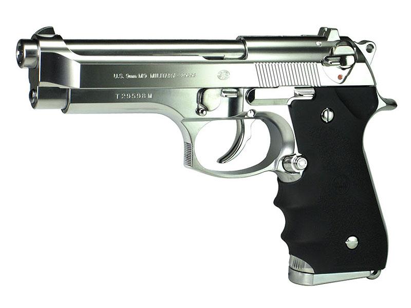 東京マルイ M92Fクロームステンレスモデル (BERETTA・ベレッタ) ガスブローバック・ガスガン 対象年令18才以上(18歳以上)