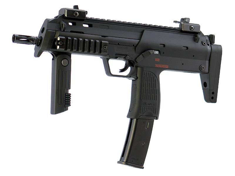 東京マルイ MP7A1 - ブラックタイプ - ガスブローバック・ガスガン 対象年令18才以上(18歳以上) <H&K><HK><ヘッケラー&コック><ガスブローバックマシンガン>