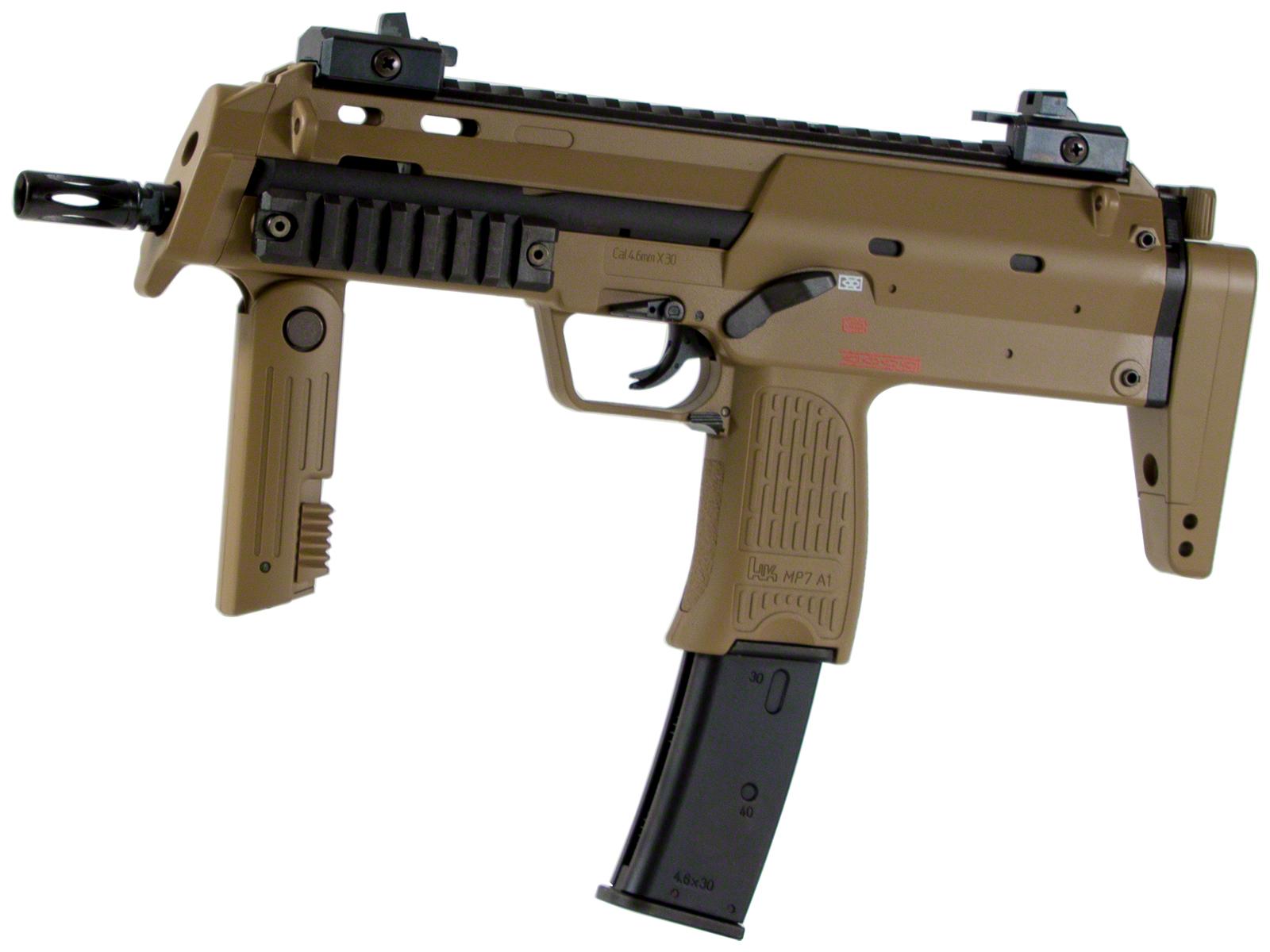 東京マルイ MP7A1 - タンカラータイプ - ガスブローバック・ガスガン 対象年令18才以上(18歳以上) <H&K><HK><ヘッケラー&コック><ガスブローバックマシンガン>