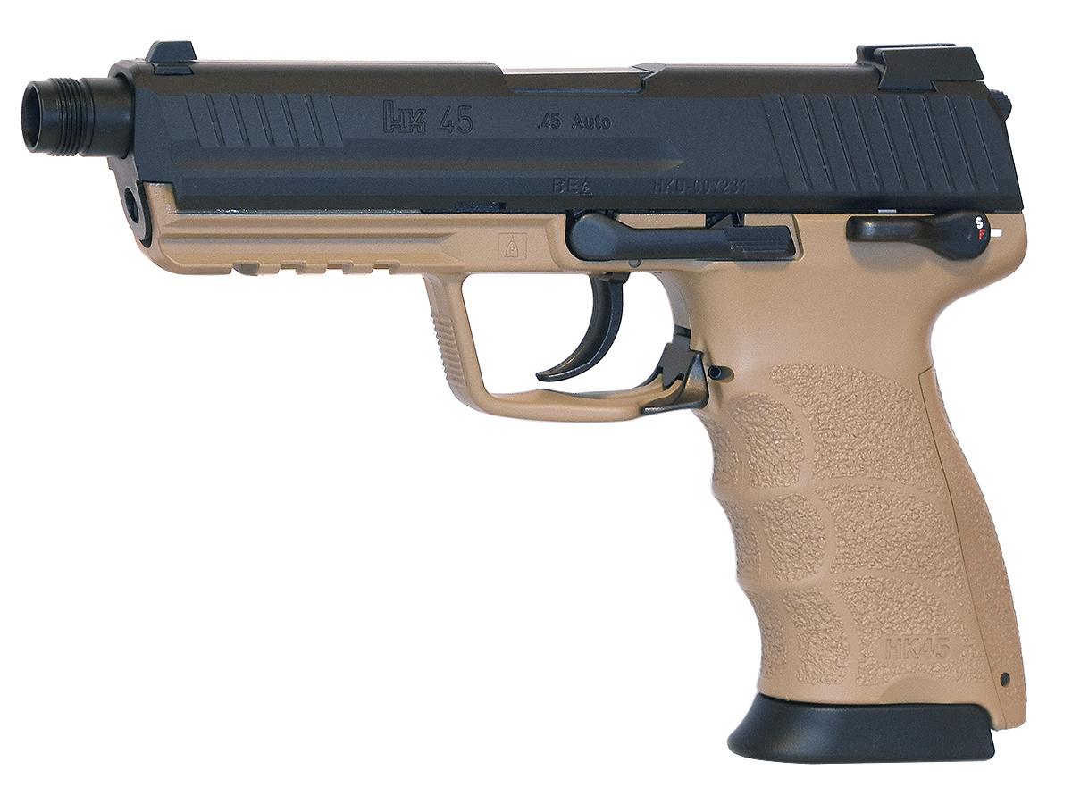 東京マルイ HK45タクティカル - タンカラーモデル - ガスブローバック・ガスガン 対象年令18才以上(18歳以上)